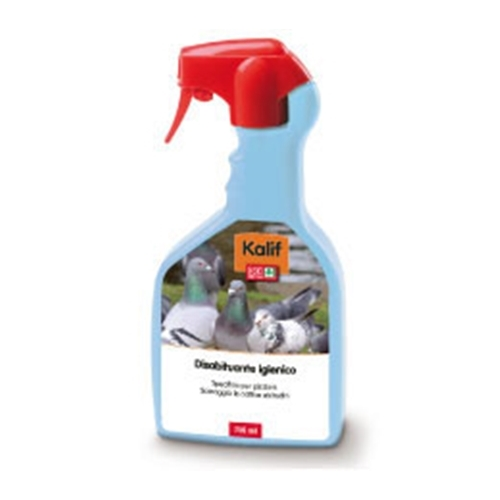 Repellente - disabituante per piccioni liquido Kalif 750 ml.
