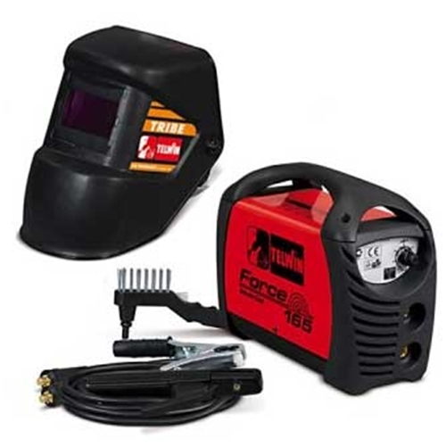 Welding machine Inverter Telwin Force 165 with LCD MASK