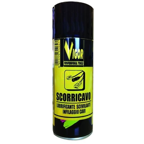 Olio scorricavo spray Vigor 400ml.