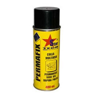Colla spray multiuso ml.400 *Permafix*
