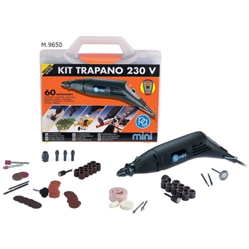 Minitrapano di precisione in kit 220V M.9650 PG Mini