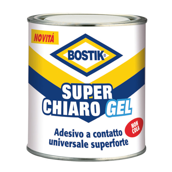 Adesivo colla Bostik Superchiaro GEL latta 750 gr